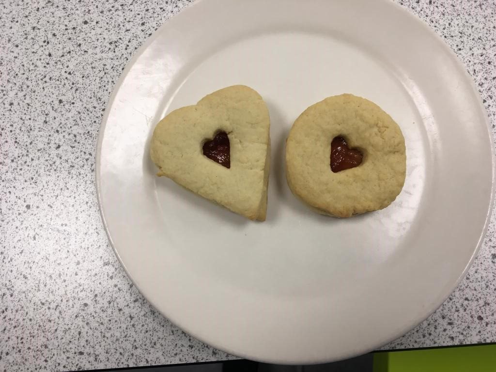 My 3D Printed Cookie Heart Cutter In Use